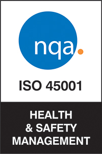 CRL is NQA ISO 45001 accredited