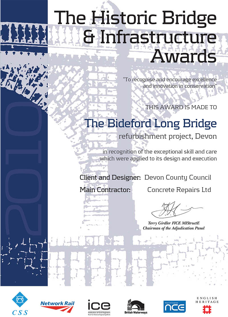 2010 ICE Historic Bridge Award