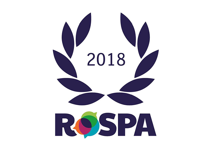 Concrete Repairs Ltd handed RoSPA Order of Distinction (18 consecutive Golds) Award