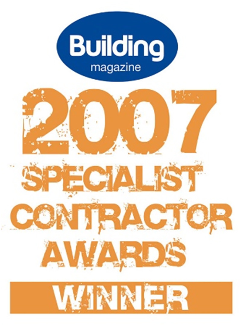 2007 Building Magazine Specialist Contractor Award